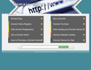 domainreglist.com screenshot