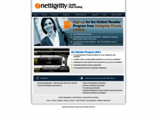 domainreseller.nettigritty.com screenshot