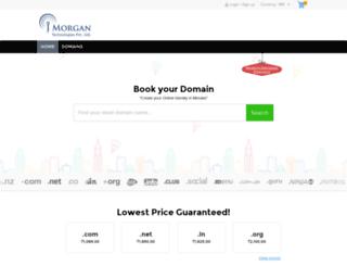 domains.hostbaap.com screenshot