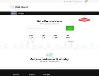 domains.innohosting.com screenshot