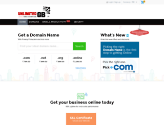 domains.unlimitedgb.com screenshot