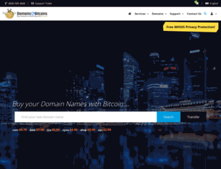 domains4bitcoins.com screenshot