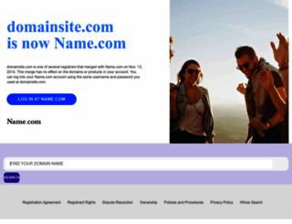 domainsite.com screenshot
