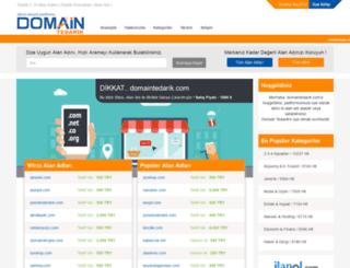 domaintedarik.com screenshot