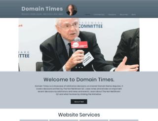 domaintimes.net screenshot