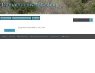 domainundwebhosting.de screenshot