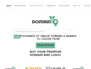 domainyo.com screenshot