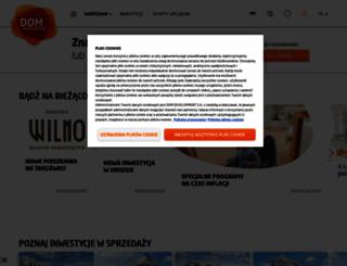 domdevelopment.com.pl screenshot