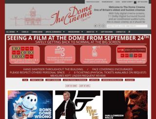 domecinema.co.uk screenshot