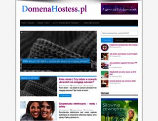 domenahostess.pl screenshot