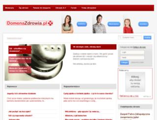 domenazdrowia.pl screenshot