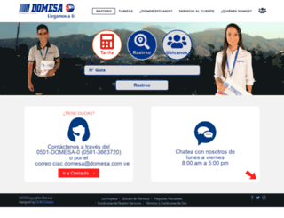 domesa.com.ve screenshot