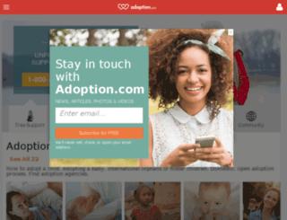 domestic-infant.adoptionblogs.com screenshot
