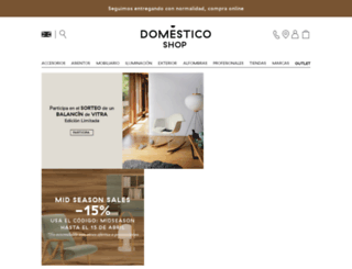 domesticoshop.com screenshot