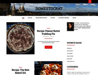 domestocrat.net screenshot