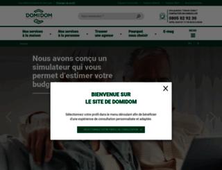 domidom.fr screenshot