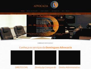 dominguesadvocacia.com.br screenshot