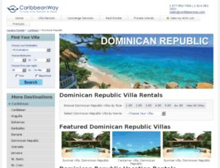 dominican-republic.caribbeanway.com screenshot