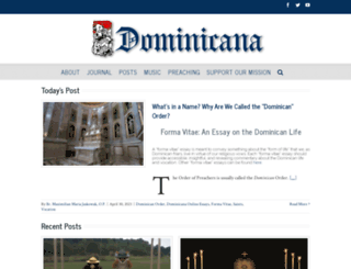 dominicanajournal.org screenshot