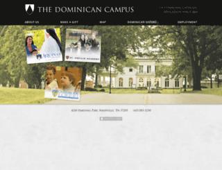 dominicancampus.org screenshot