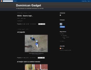 dominicangadget.blogspot.mx screenshot