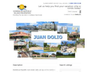 dominicanrepublicislandproperties.com screenshot