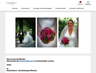 dominikbrenne.fotograf.de screenshot