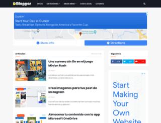 dominioblogger.com screenshot