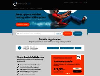 dominiofaidate.it screenshot