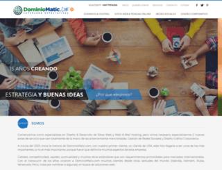 dominiomatic.com screenshot