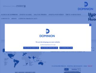dominionmexico.com.mx screenshot