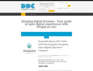 dominiquedecooman.com screenshot