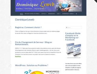dominiqueleweb.com screenshot
