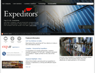 domino.expeditors.com screenshot