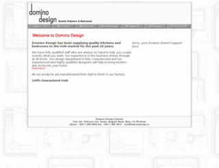 dominodesign.ie screenshot