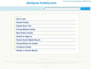 domjose-hotels.com screenshot