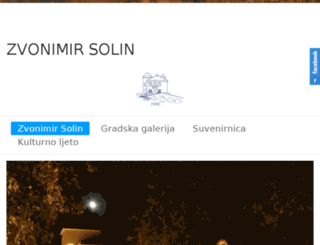 domkulture-zvonimir-solin.hr screenshot