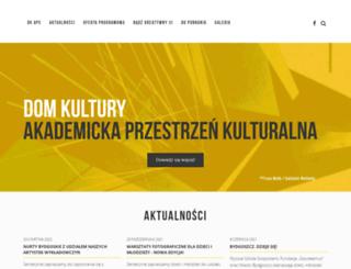 domkultury.byd.pl screenshot