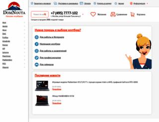 domnouta.ru screenshot
