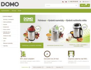 domo-elektro.cz screenshot