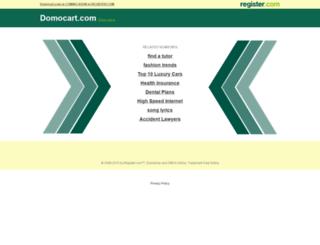 domocart.com screenshot