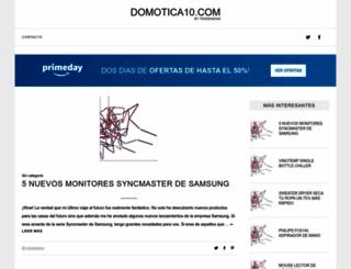 domotica10.com screenshot