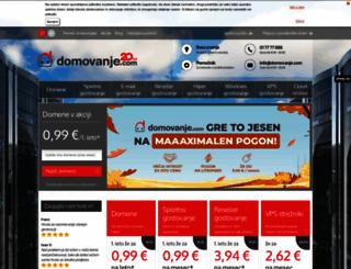 domovanje.com screenshot