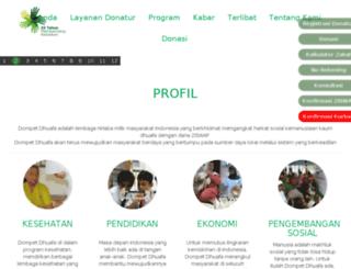 dompetdhuafa.or.id screenshot