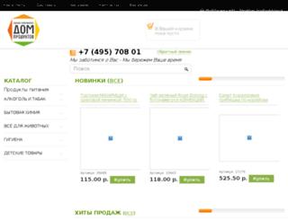 domproduktov.ru screenshot