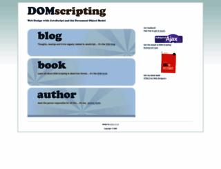 domscripting.com screenshot