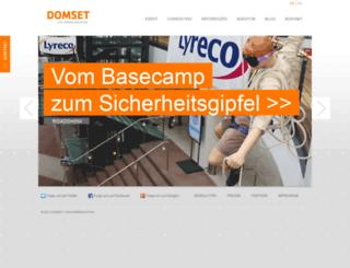 domset.de screenshot