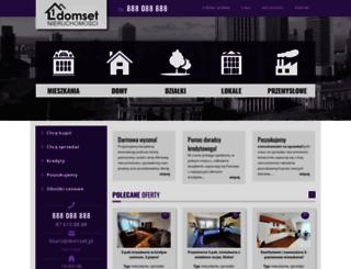 domset.pl screenshot