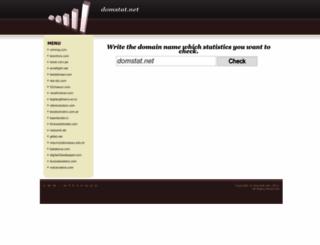 domstat.net screenshot