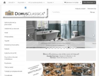 domusclassica.fi screenshot